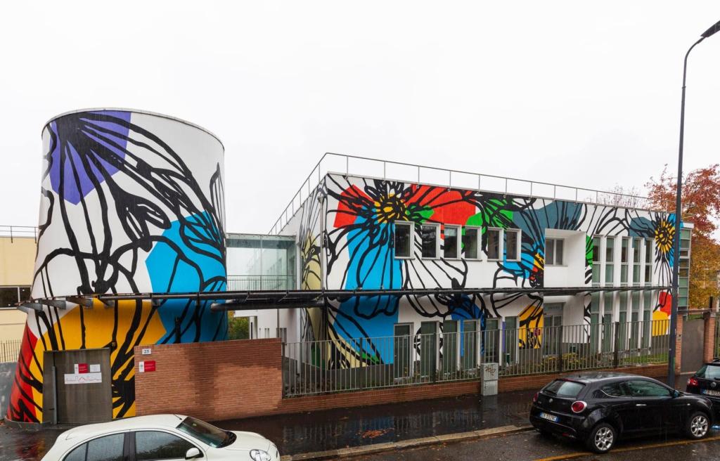 Street art milano Centro Diurno Anfossi