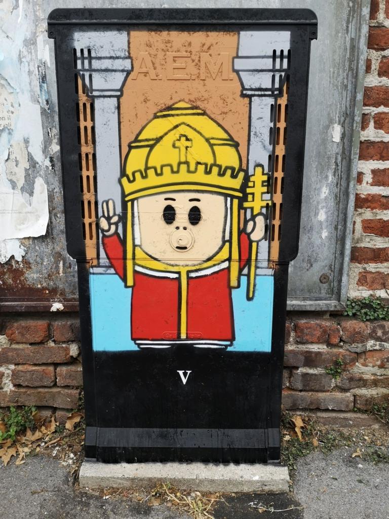 street art milano Pao
