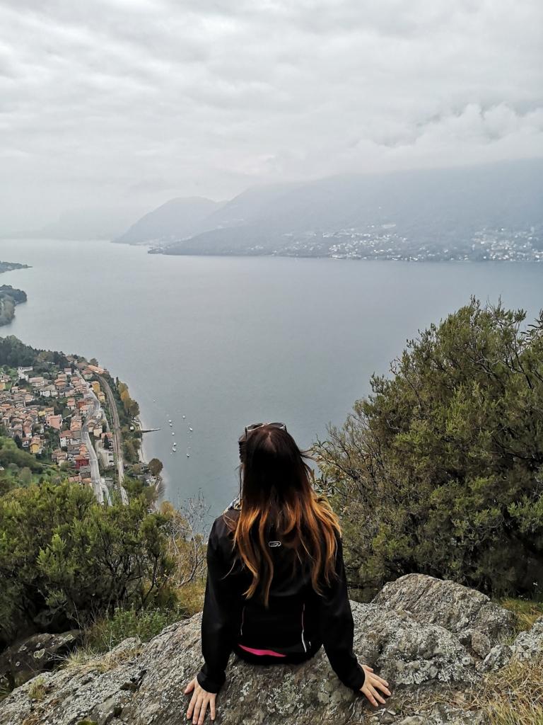 vista panoramica sul Lago di Como