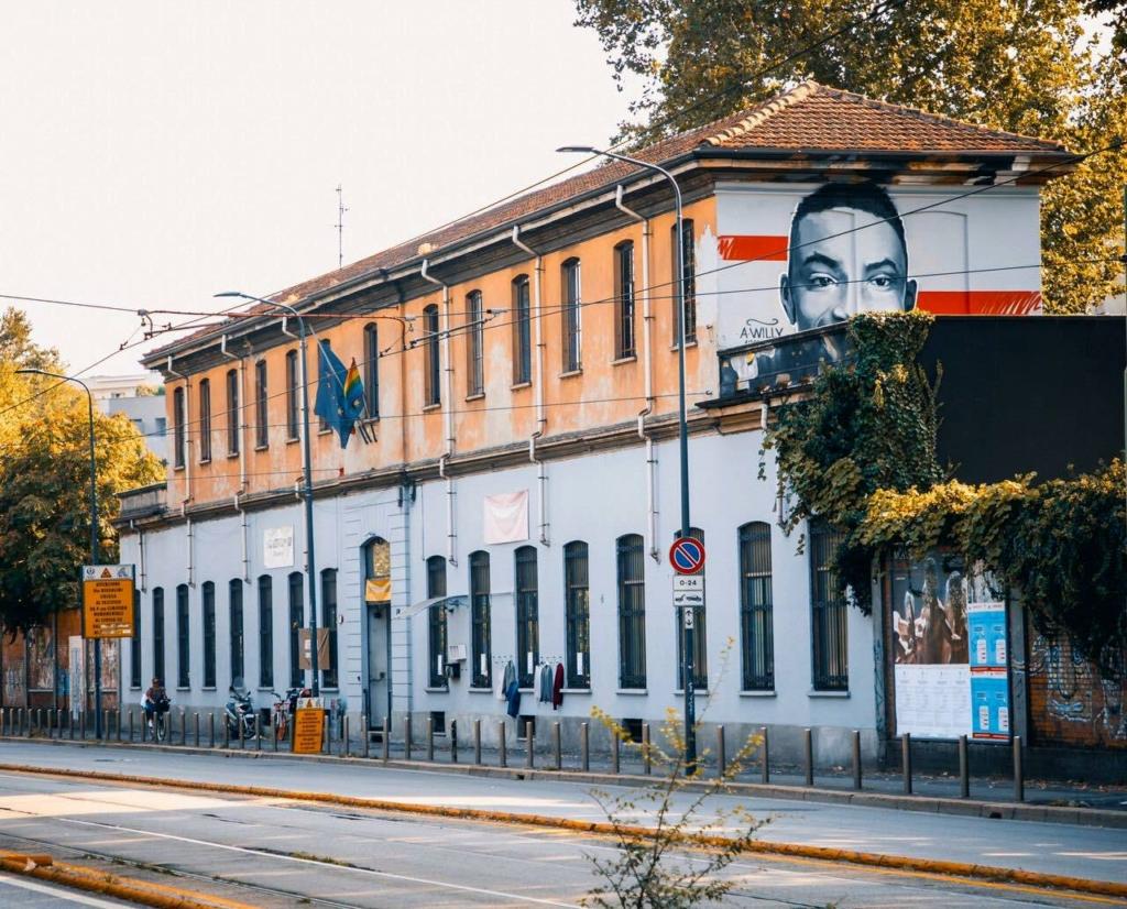 Tempio del Futuro perduto Murale Willy