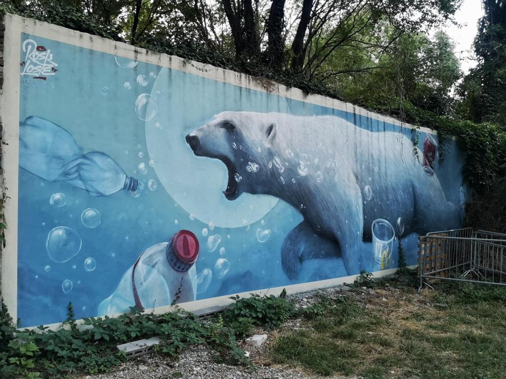 Street art Tempio del Futuro Perduto