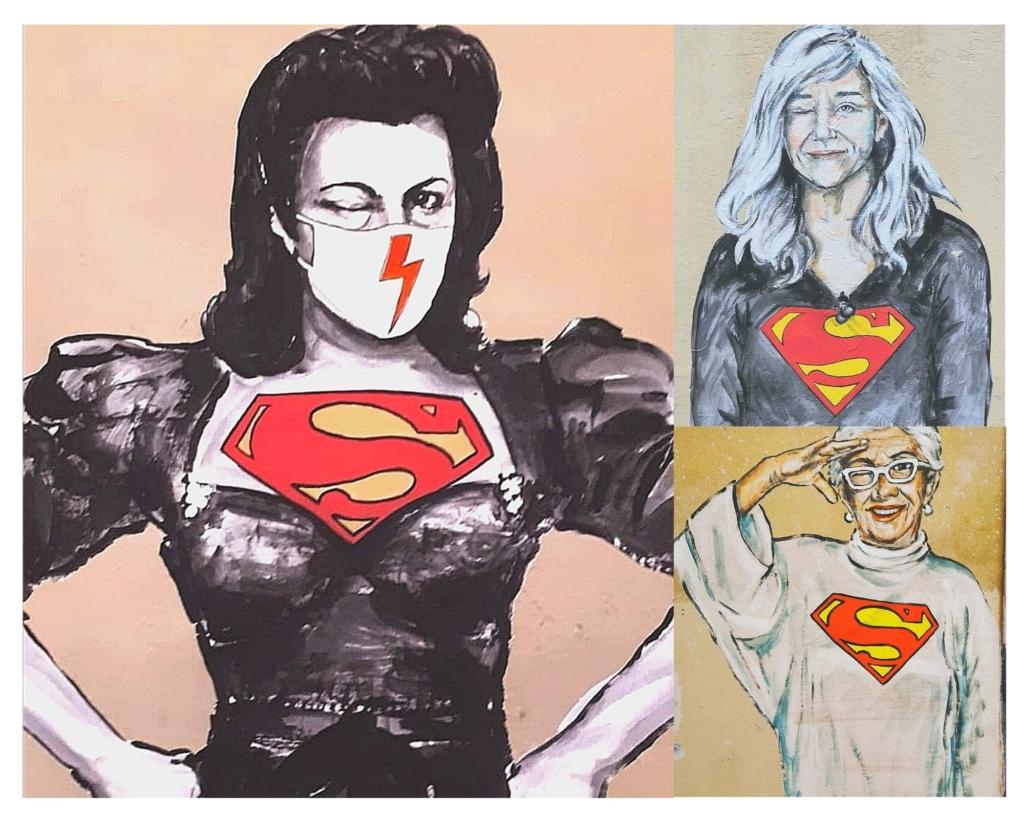 super donne street art