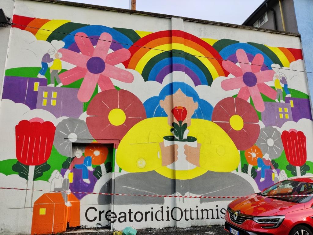 Opera di Urban Art Via Schiaffino