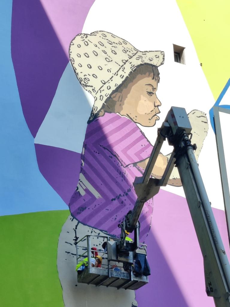 arte urbana fineco bank