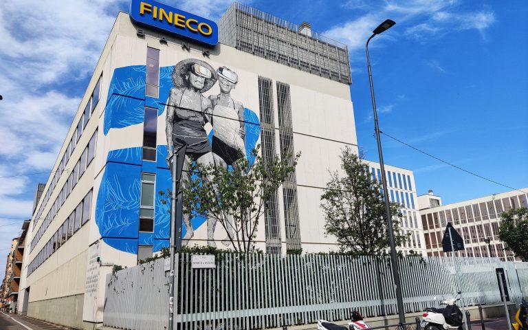 ARTE URBANA A NOLO BY CHEKOS ART E ROBICO PER FINECO