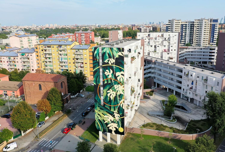 Fabio Petani street art milano