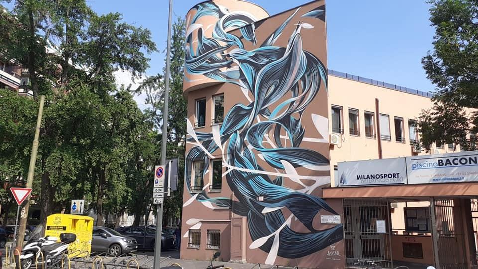 Piscina Bacone street art